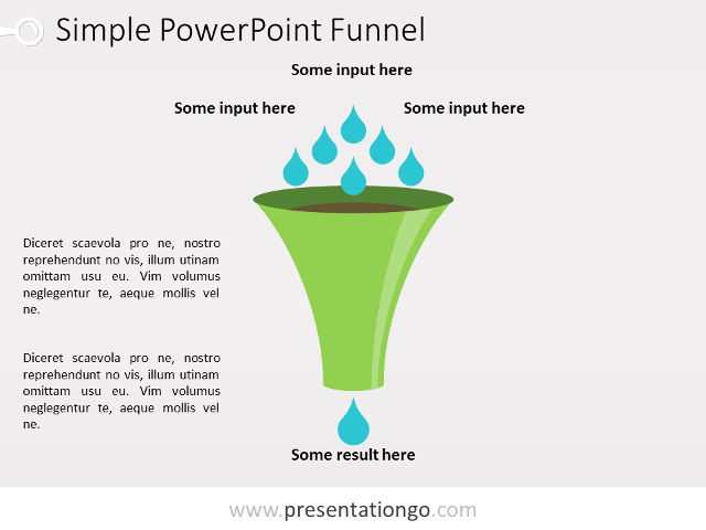 Vertical Funnel Diagram For Powerpoint Presentationgo Com Powerpoint Powerpoint Slide Designs Powerpoint Templates