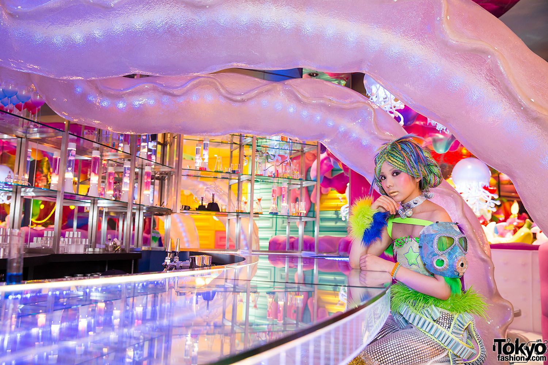 Kawaii Monster Cafe Harajuku In 2019 Aesthetic Japan Cafe