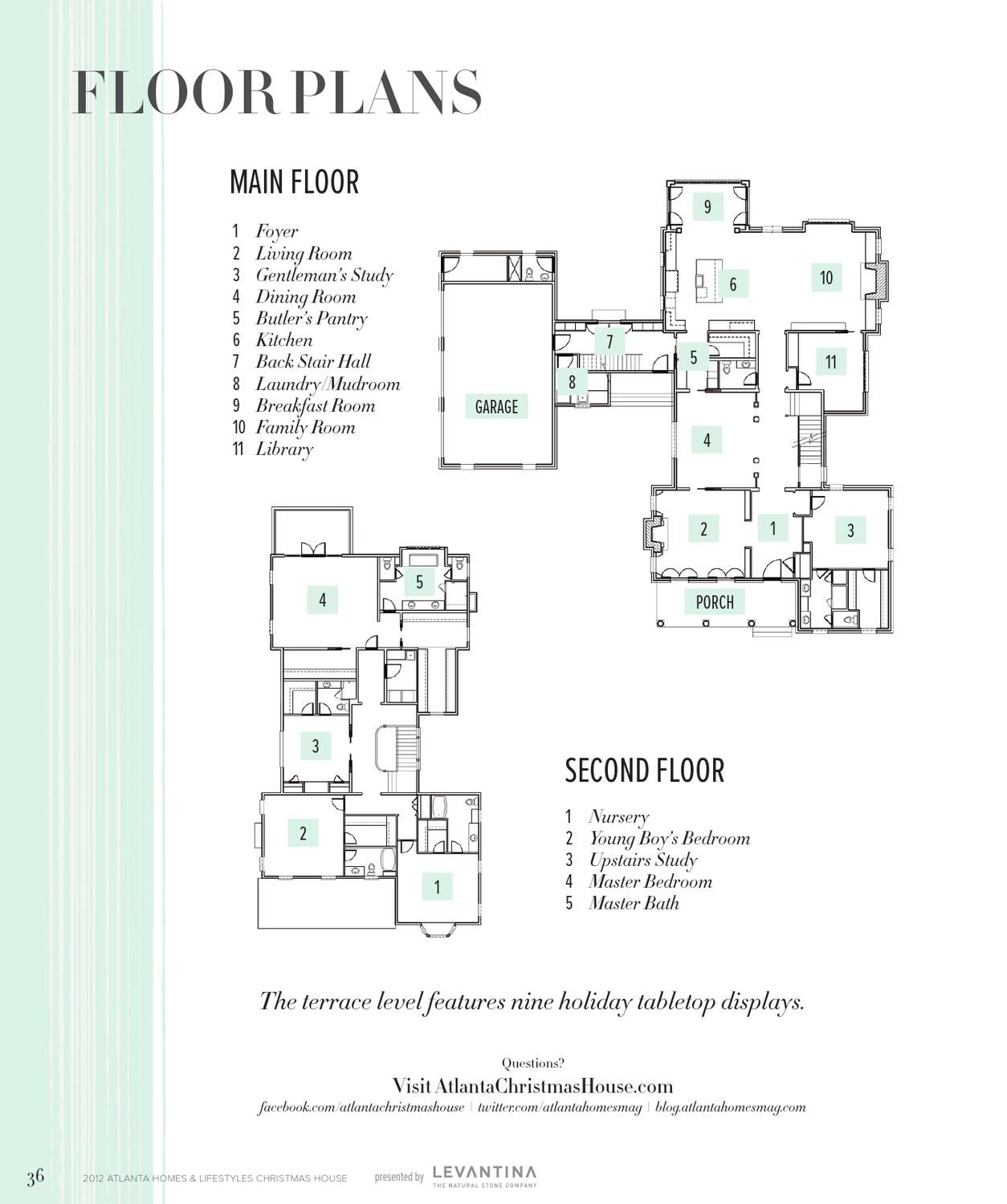 Atlanta Homes Lifestyles December Atlanta Homes House Floor Plans Luxury House Plans