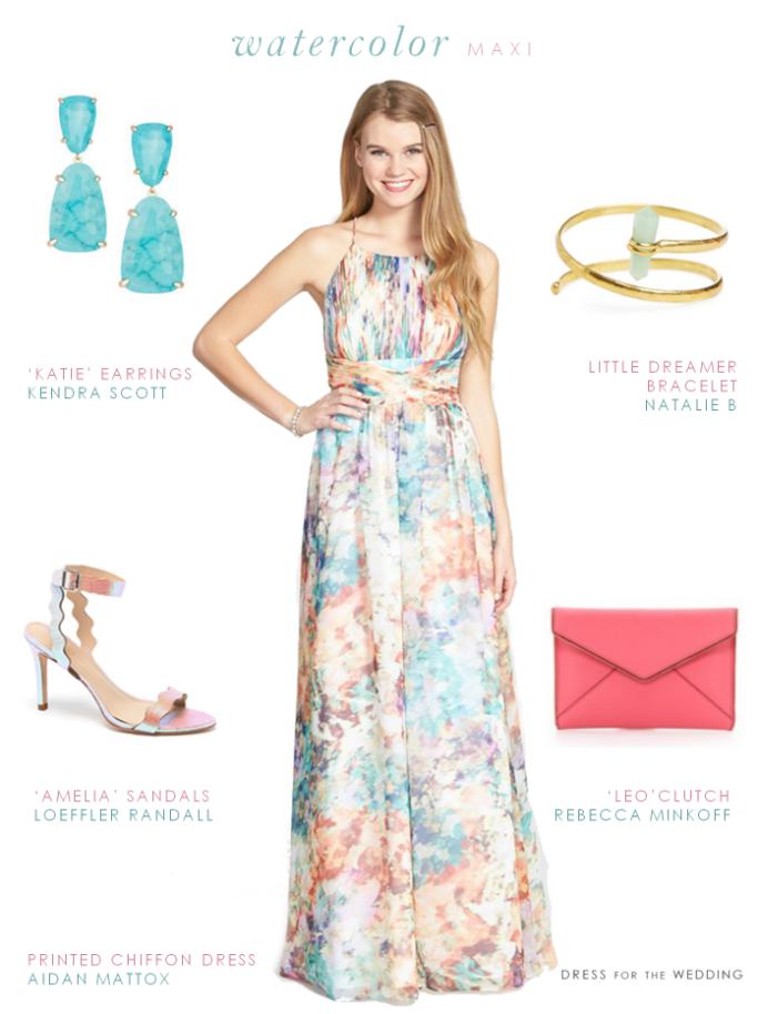 Wedding Guest Maxi Dresses Summer 2015
