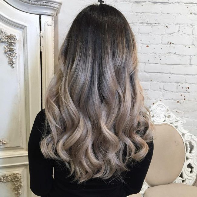 Ash Blonde Balayage Ombr 233 Hair Pinterest Ash Blonde