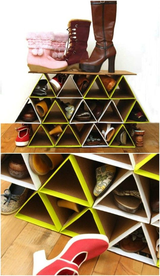 20 outrageously simple diy shoe racks and organizers you on wood shoe rack diy simple id=38470