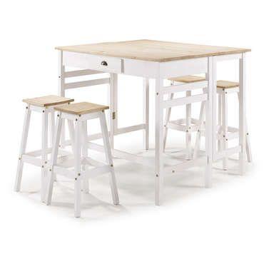 Ensemble Table Et Chaises De Cuisine Sharona Table Et