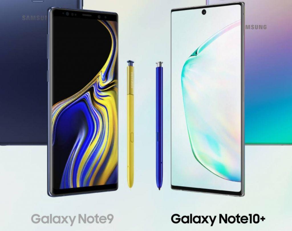 مقارنة بين جالاكسي نوت 10 بلس وجالاكسي نوت 9 أيهما أفضل ما الفرق بينهما صدى التقنية Electronic Devices Galaxy Abstract Artwork