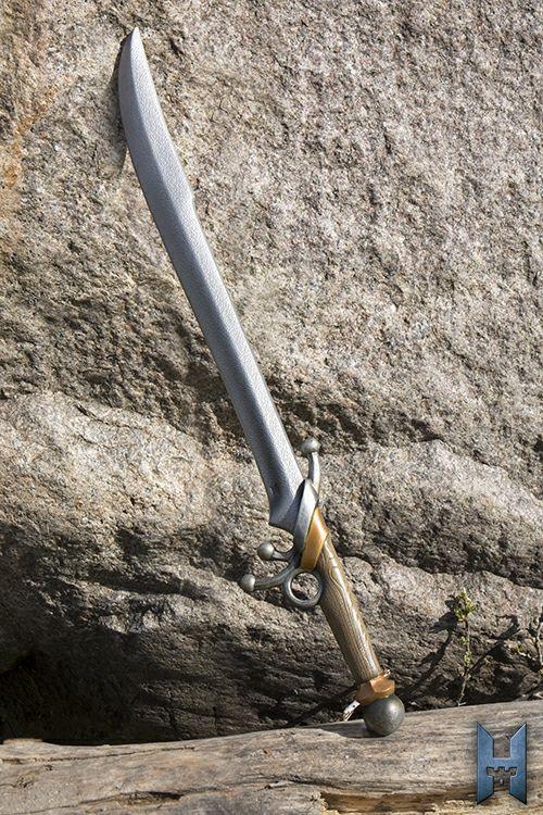 Schwert Cavelier Länge:  71cm   Qualitätsmerkmale: Bei dieser LARP-Waffe handelt es sich um ein Produkt der Spitzenklasse, aus dem Hause Epic Armoury. Diese neue Serie von Epic Armoury bietet Dir noch mehr Details für Deine...
