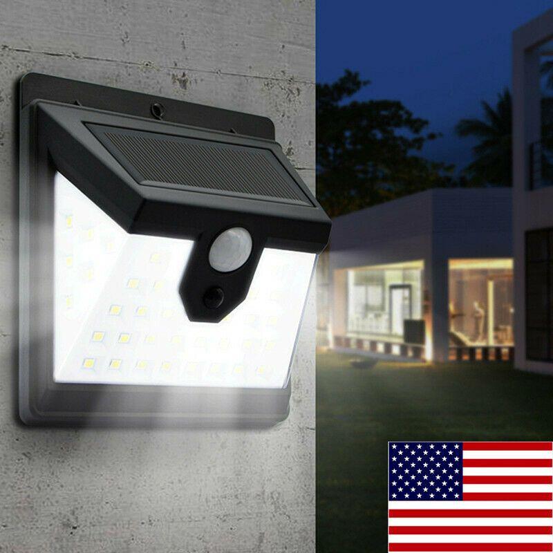 Solar Lamp Waterproof Pir Motion Sensitive Wall Light Outdoor Yard Garden 40 Led Ideas Of Solar Lamp Sola In 2020 Solar Lamp Outdoor Wall Lighting Outdoor Lighting