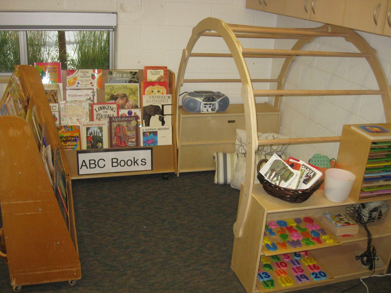 Havergal: Book Nook - JK classroom | Classroom environment ...