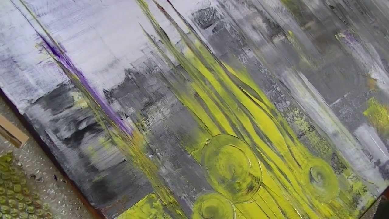 Acrylmalerei abstract acrylic speed painting kurze Fassung