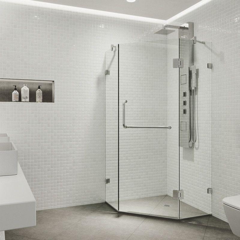 Vigo Piedmont Frameless Neo Angle Shower Enclosure Shower