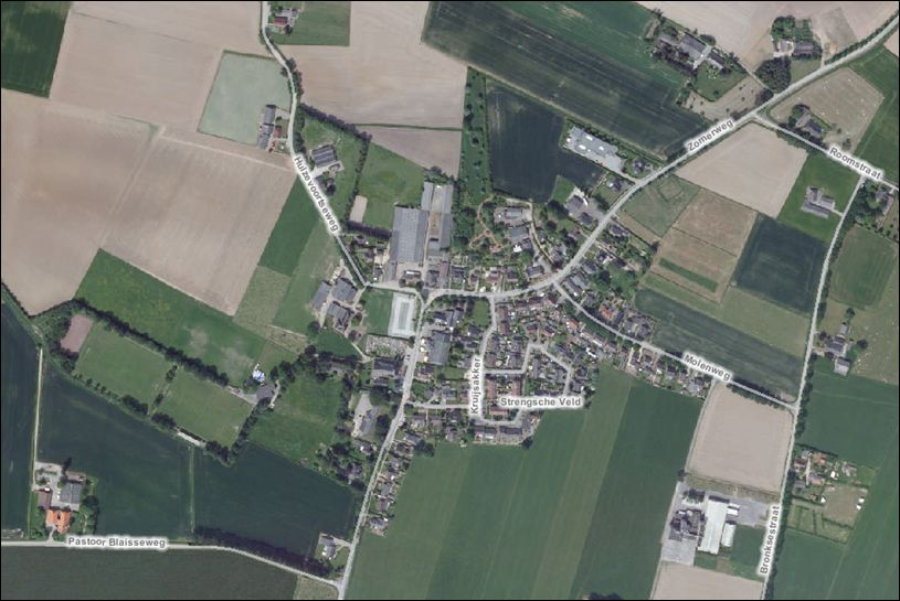 Luchtfoto Achter-Drempt