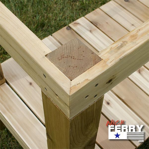 Workbench Build / Potting Bench – with Unique Join