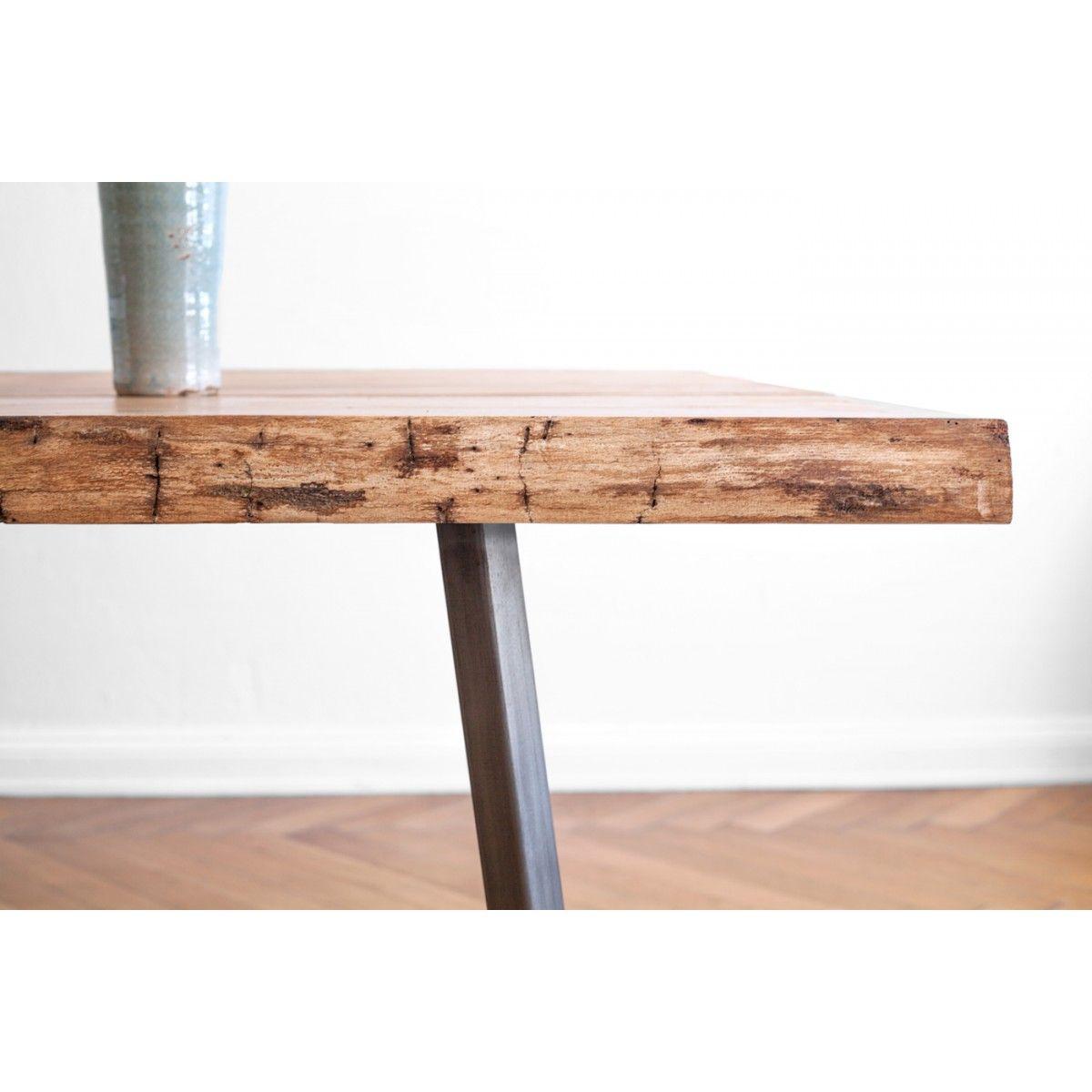 NUTSANDWOODS Oak Steel Table selekkt Heim für junges