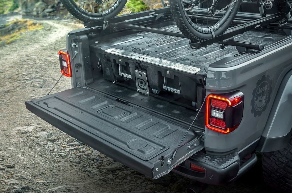 Ideas for Install Truck Bed Storage in 2020 Jeep