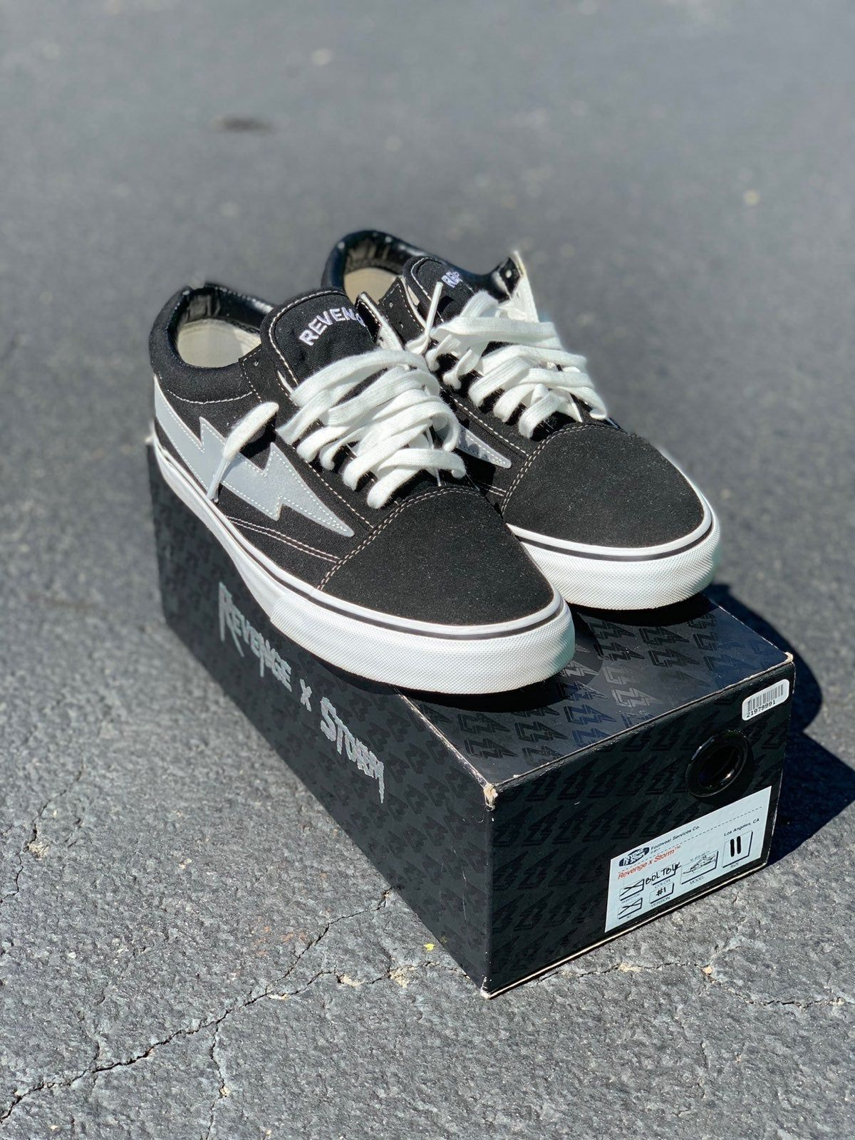 Revenge X Storm 3m Size 11 100 Authentic Og All Purchased From Goat Worn Once Price Is Firm Revenge Vans Storm