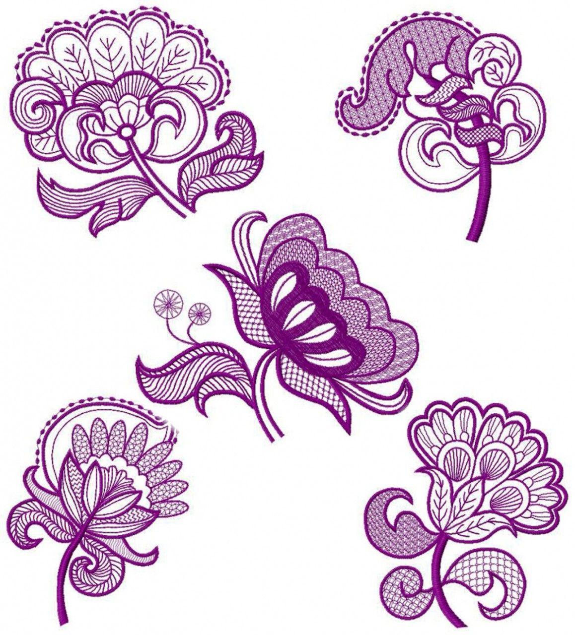 Free Machine Embroidery Quilt Patterns  Machine