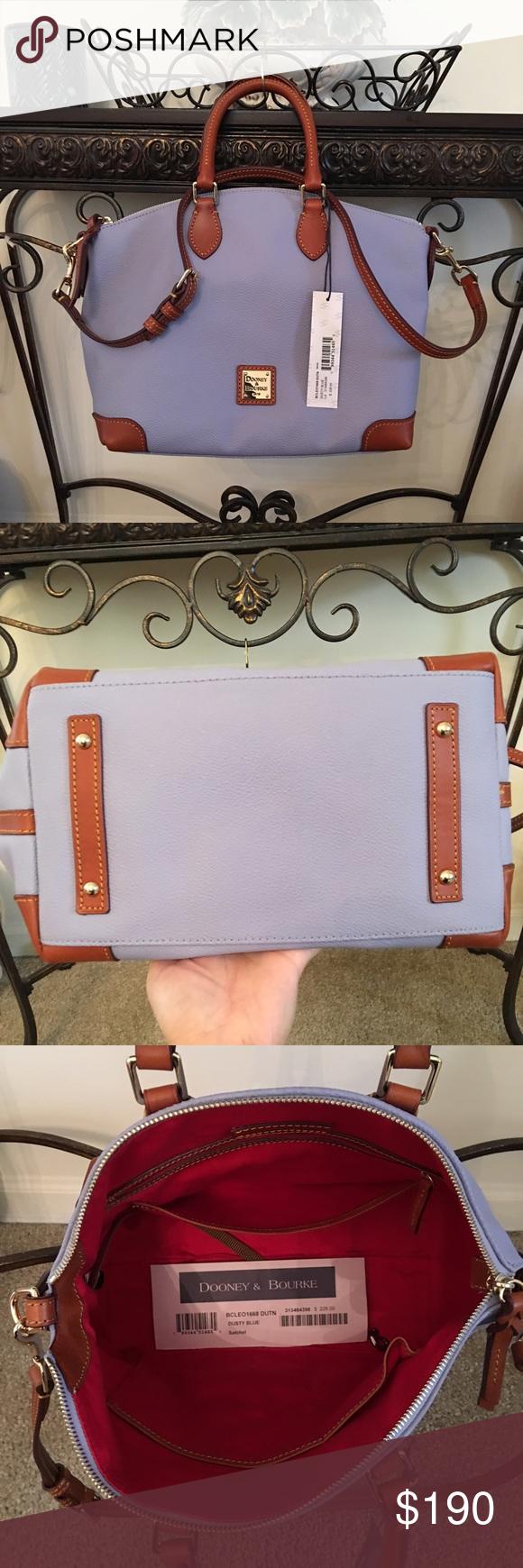 Dooney & Bourke satchel 🎀AUTHENTIC🎀 Brand new satchel in dusty blue color Dooney & Bourke Bags Satchels