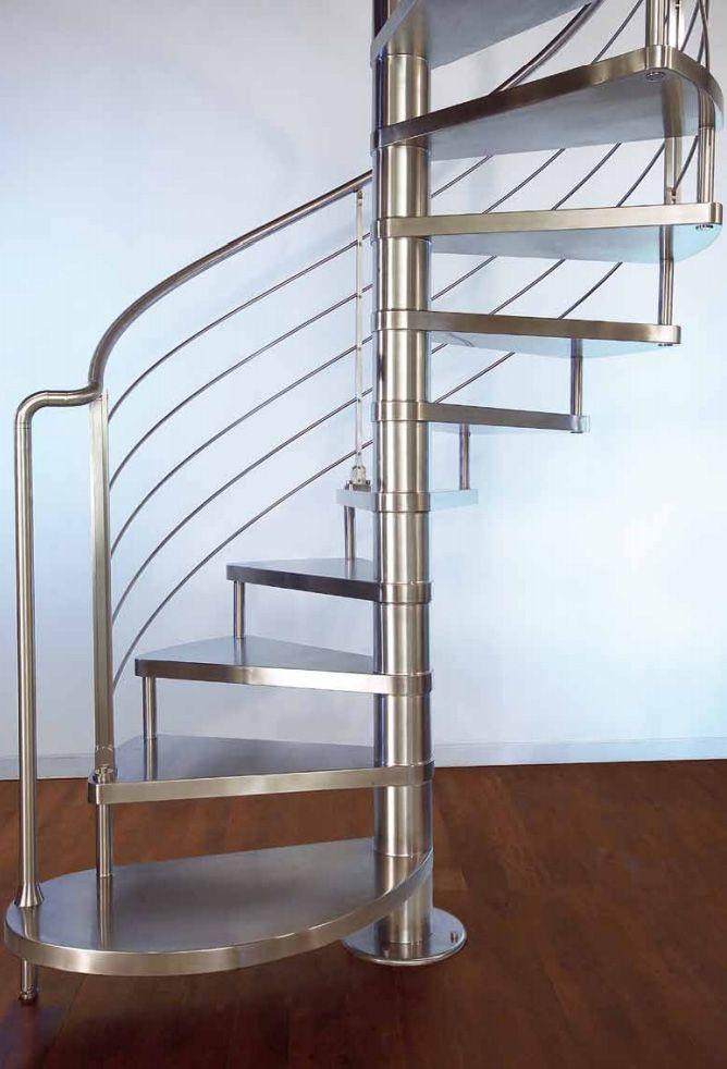 Escalera de caracol de acero | escaleras de caracol | Pinterest ...