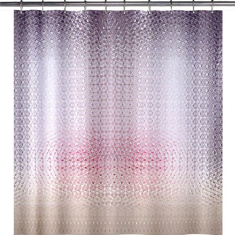 Wimaha Standard Diamond Design Shower Curtain.Standard 72 inch ...