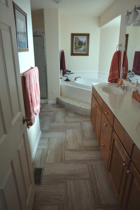 Mannington Adura Cascade Harbor Beige Mannington Adura - Bathroom remodeling mechanicsville va