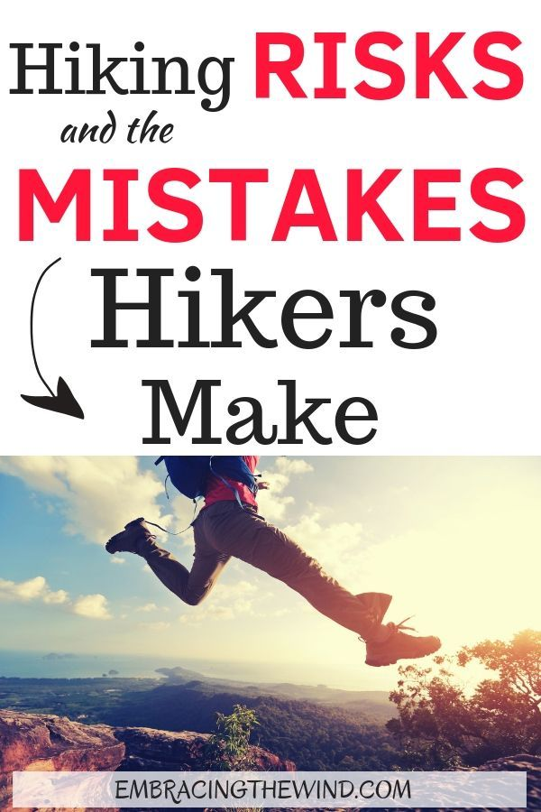 Photo of Are you making any of these hiker mistakes?  Know the risks of hiking and check …