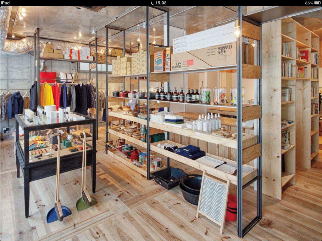 Clean Wood For A Retail Shop. #ShopInterior #StellarFinds