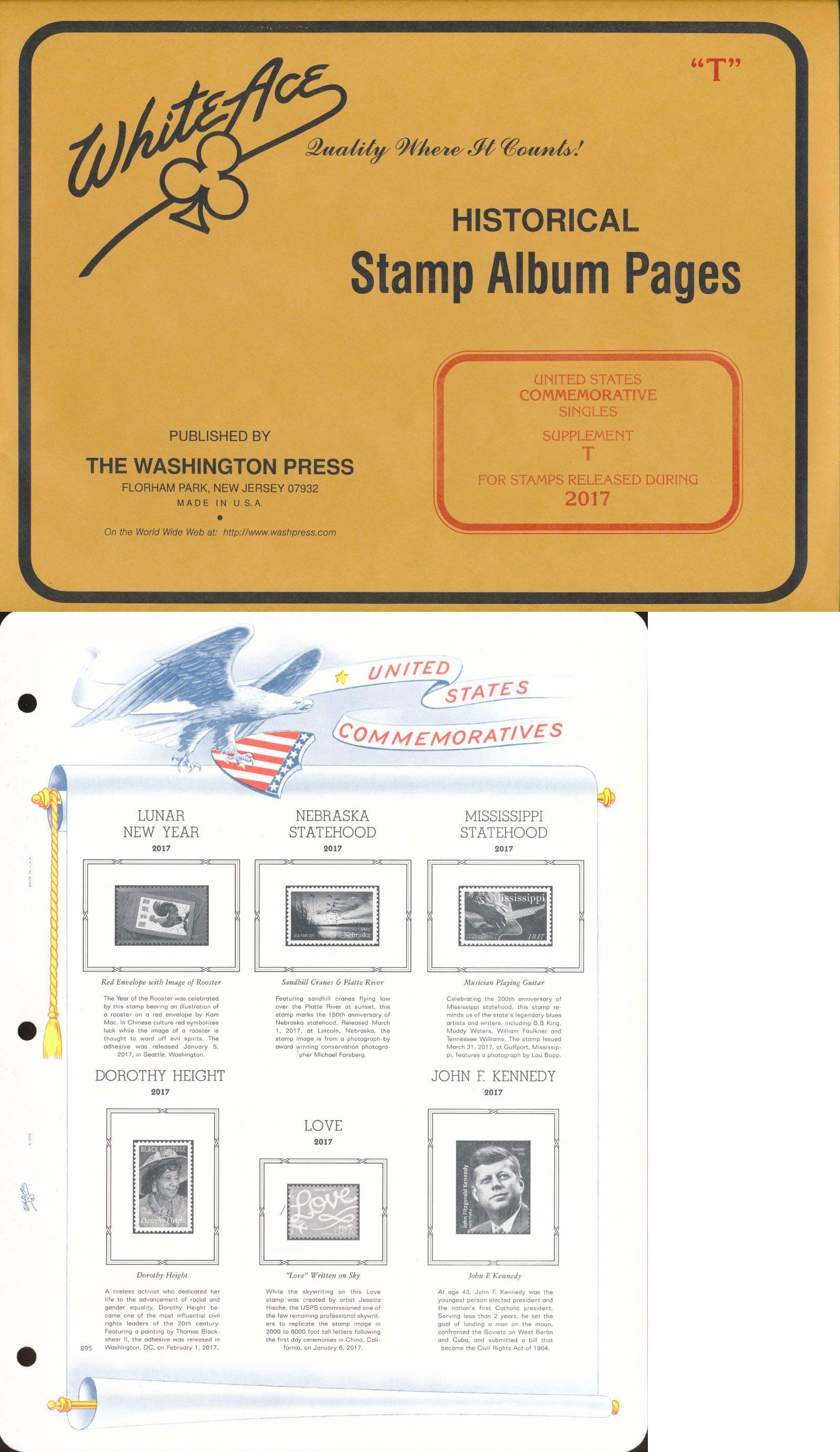 Albums 162057: White Ace Us Commemorative Singles For 2017