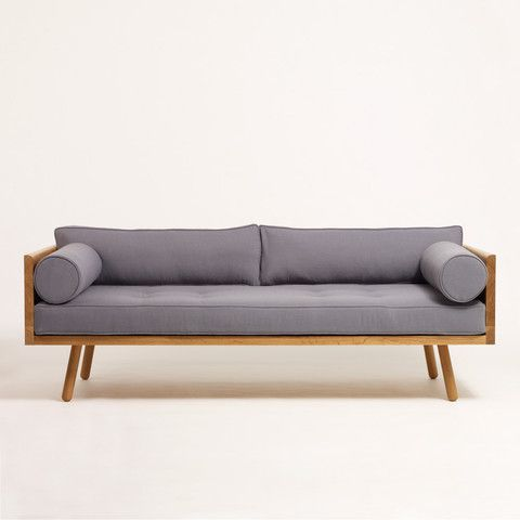 Love this sofa made from FSC certified solid wood by Another Country ...