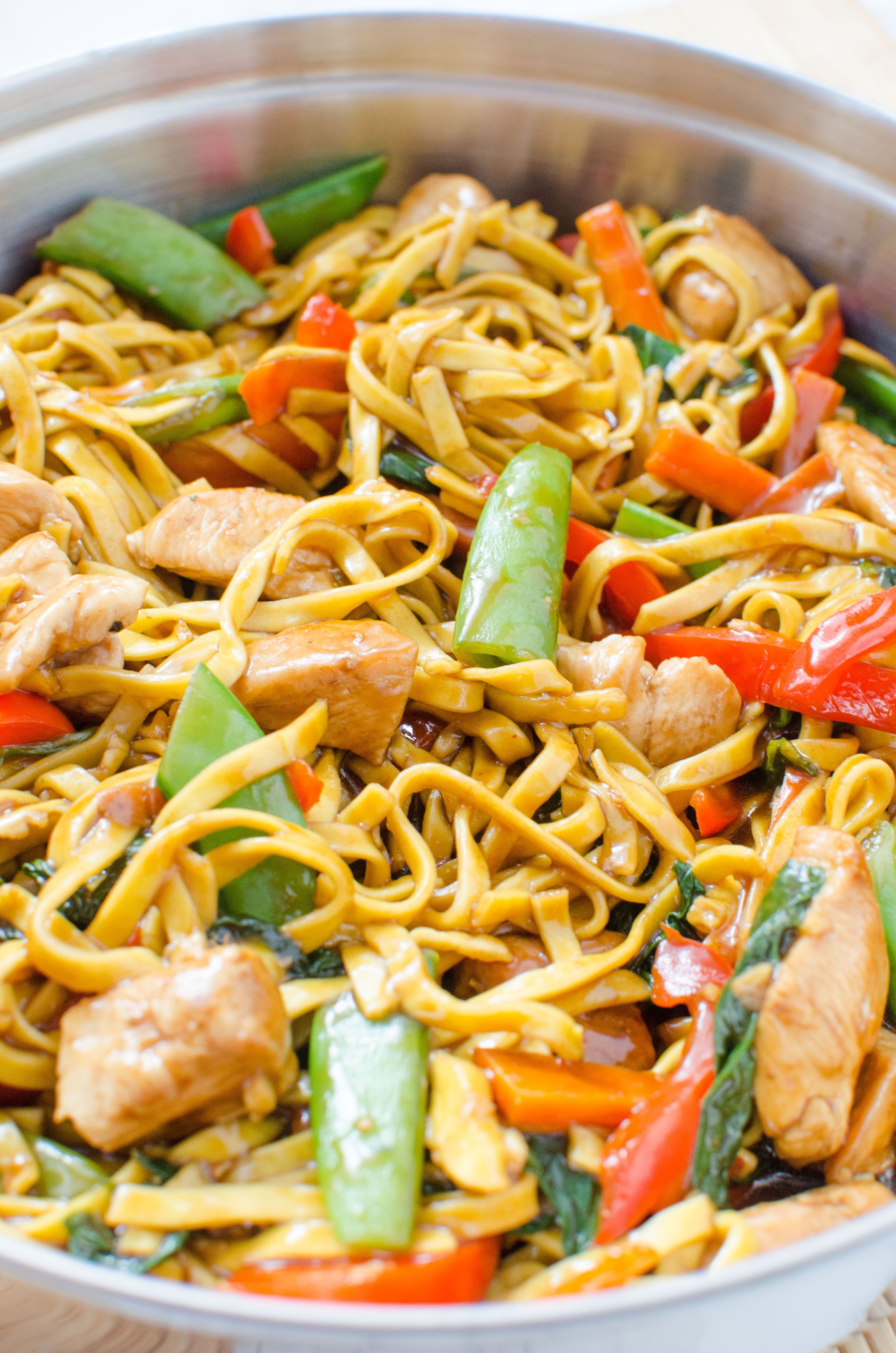 Chicken Lo Mein Homemade Takeout Style Recipe (With