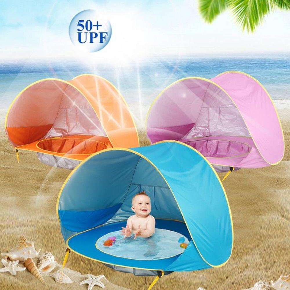 Baby Beach Tent Pop Up Portable Shade Pool UV Protection Sun