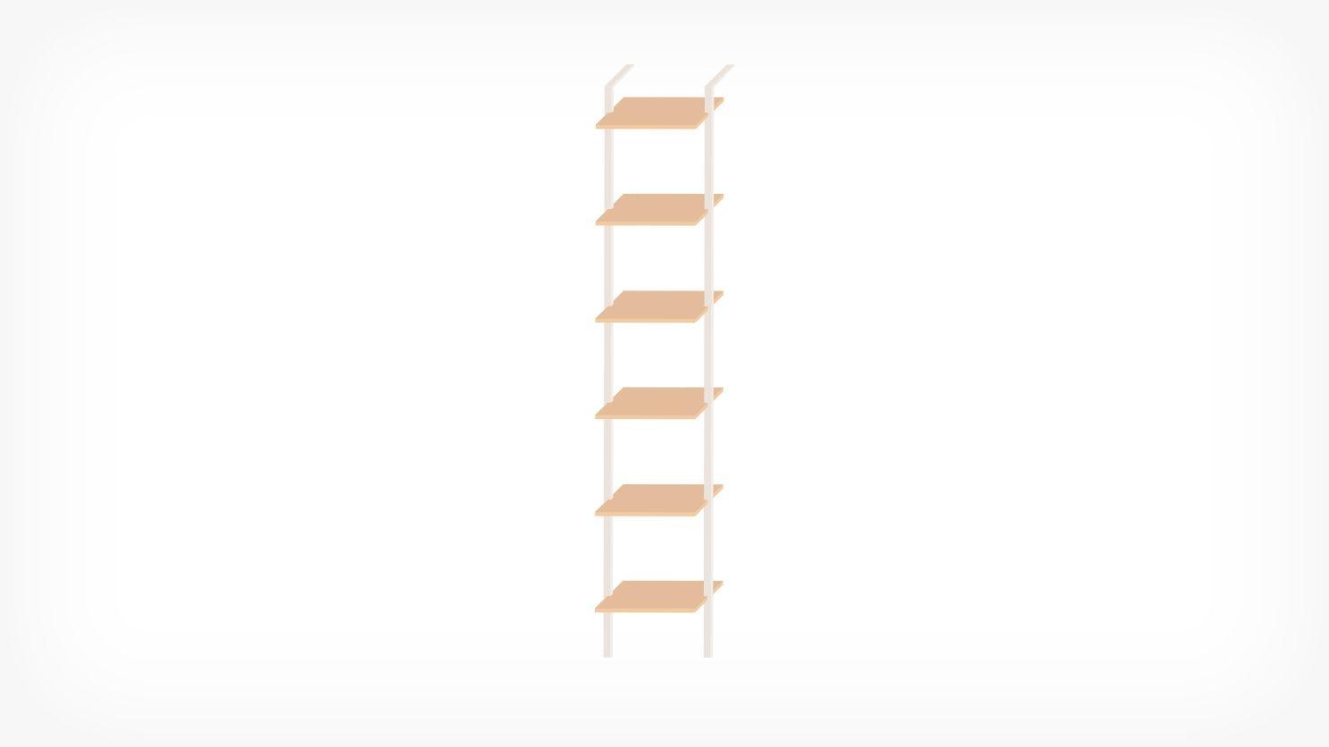 Climb ladder shelf eq decorating pinterest shelves media