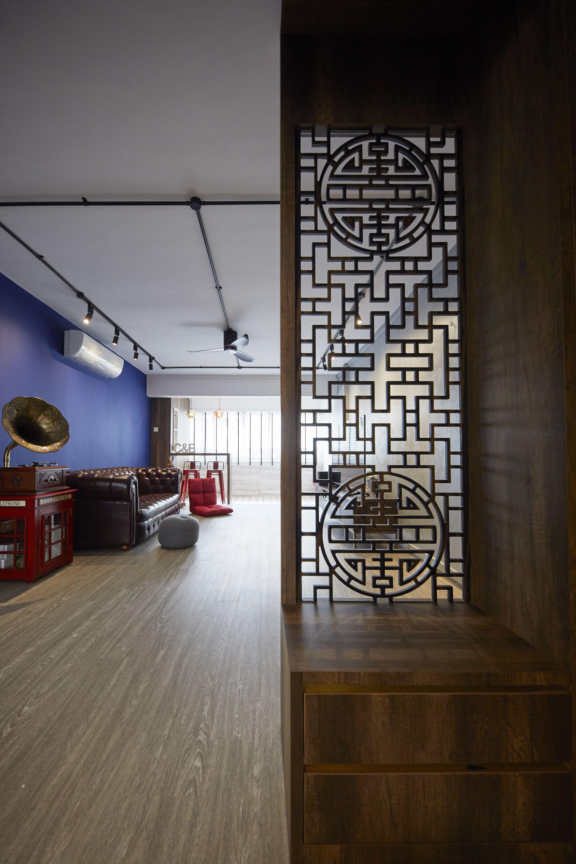 Modern Hdb Decor: HDB Resale 4 Room At Serangoon, Modern Contemporary