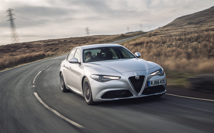 Download Wallpapers Alfa Romeo Giulia 2018 Series 952 4k