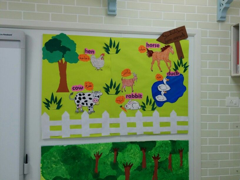 Farm Animals Classroom Display Board Activities