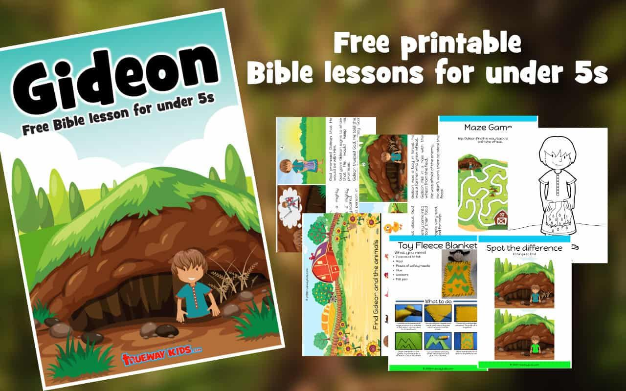 Gideon S Calling Free Bible Lesson For Under 5s