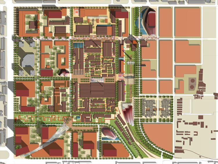 798 Arts District Vision Plan Urban landscape design