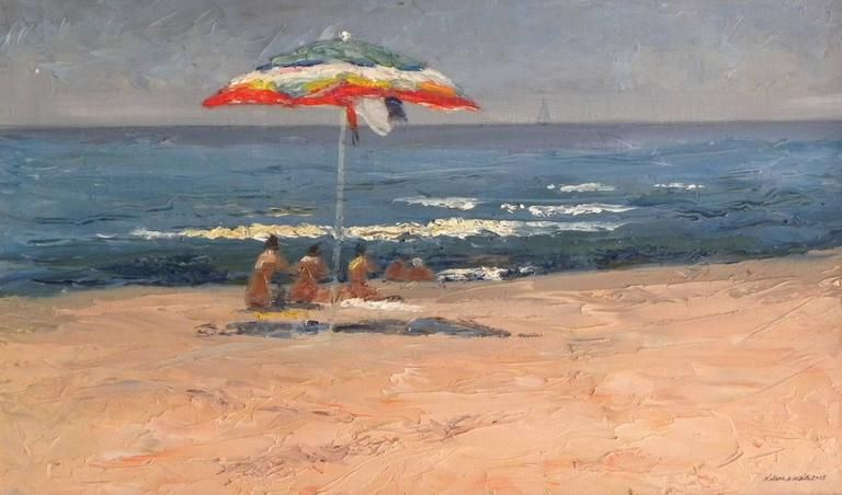 Nelson H. White Bagno Paradiso in 2019 Painting