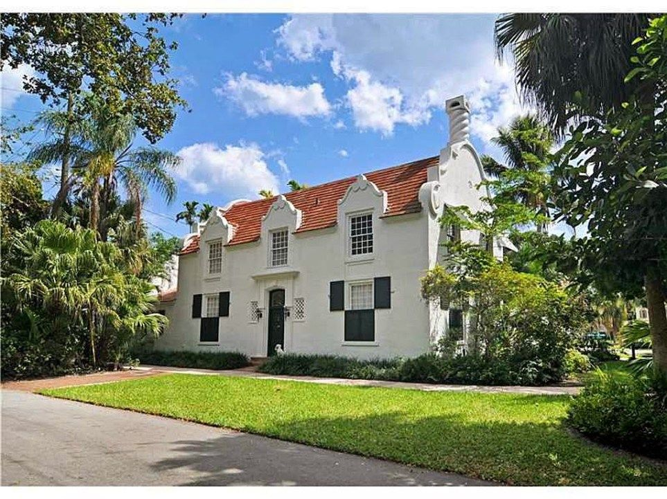 Dutch South African Village Home For Sale In Coral Gables African House Coral Gables House Styles