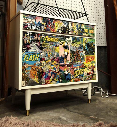 Comic Book Dresser Long Beach Antique Mall Comic Book