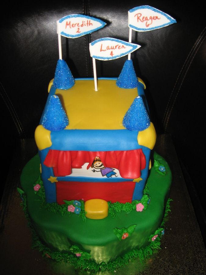 Bounce House Cake