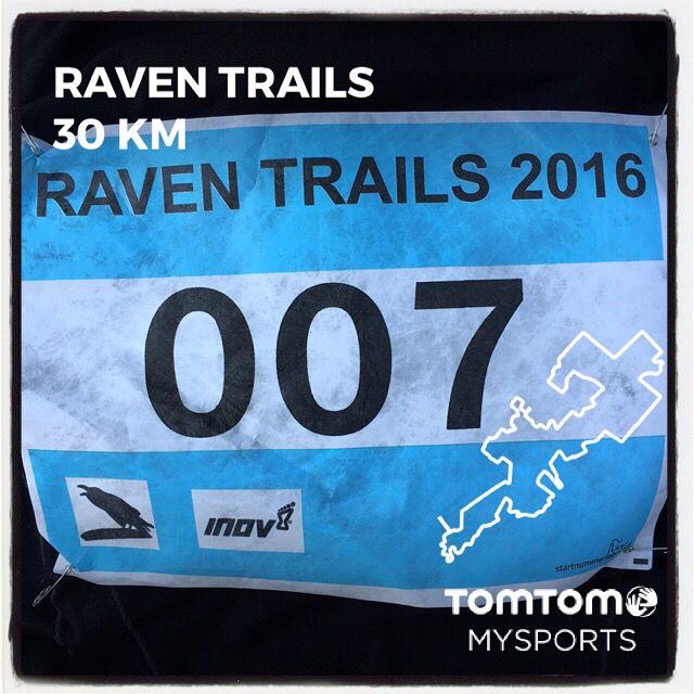 Raven Trail in Vledderveen. 30 km in 2:47:55.