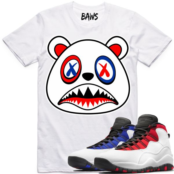 04d1cb60089 Baws Clothing Shirt to match the Nike Air Jordan Retro 10