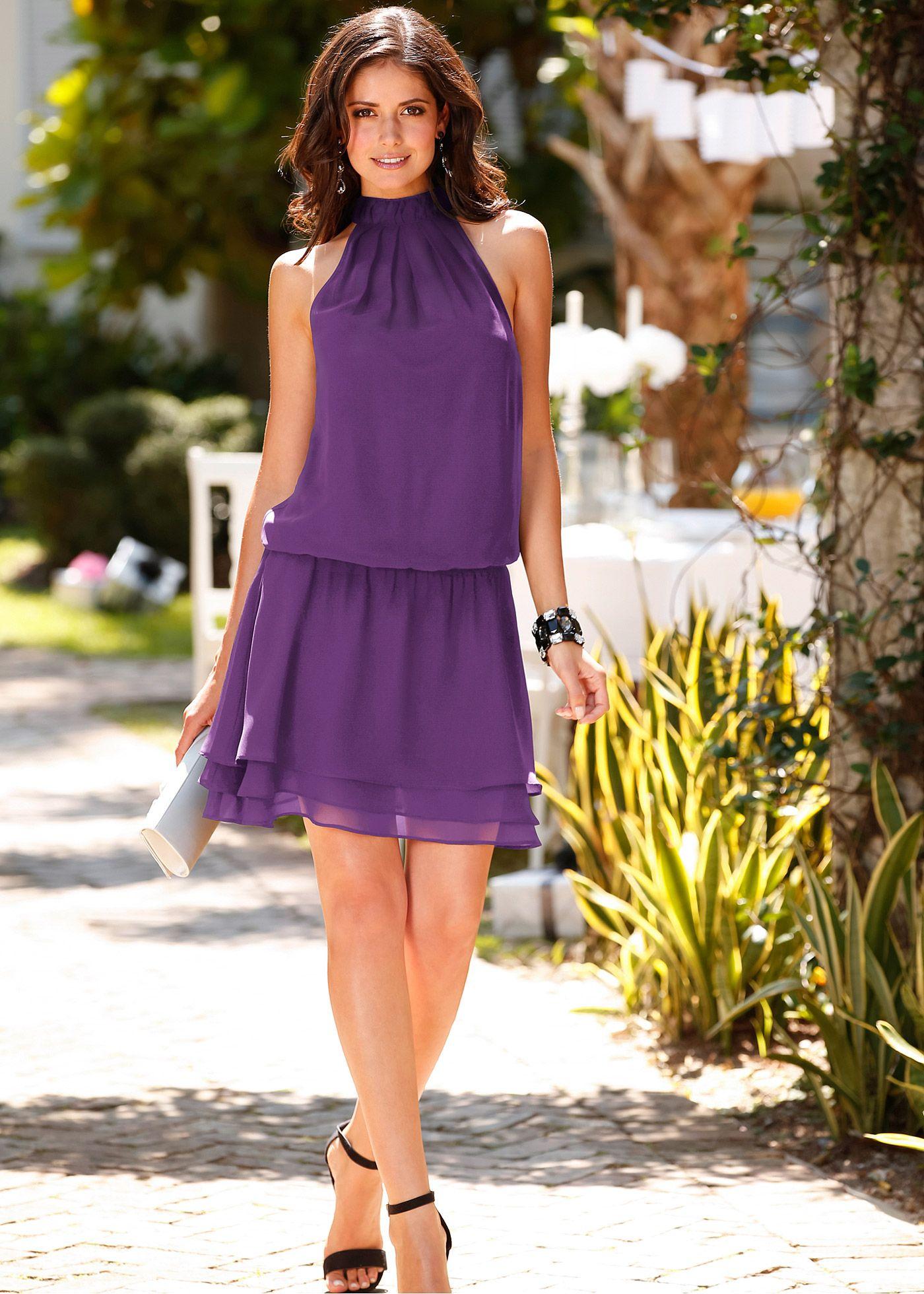 Vestido roxo encomendar agora na loja on-line bonprix.de R$ 89,90 a ...