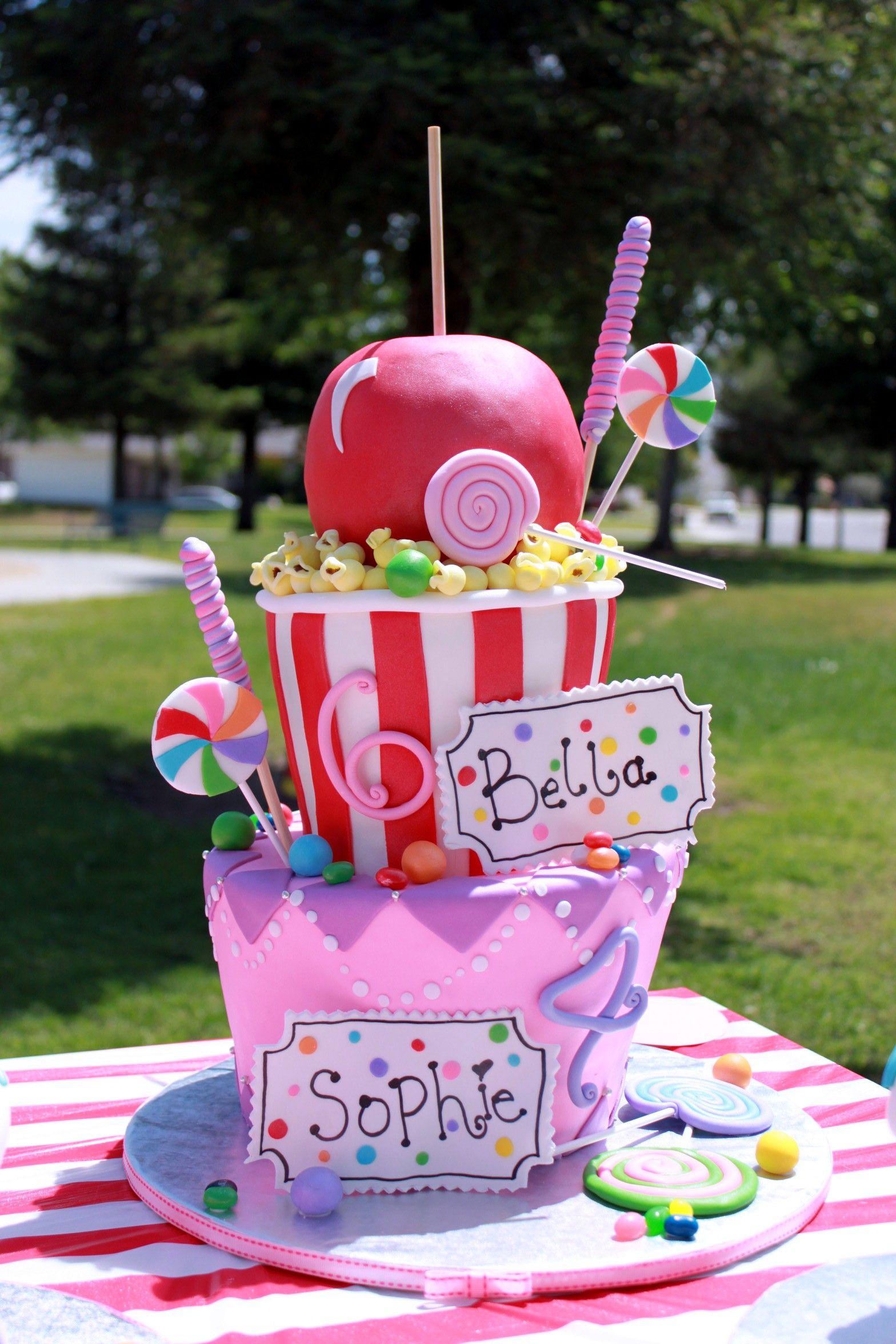 My Girls Birthday Cake 2011 Carnival Theme Birthday Bash