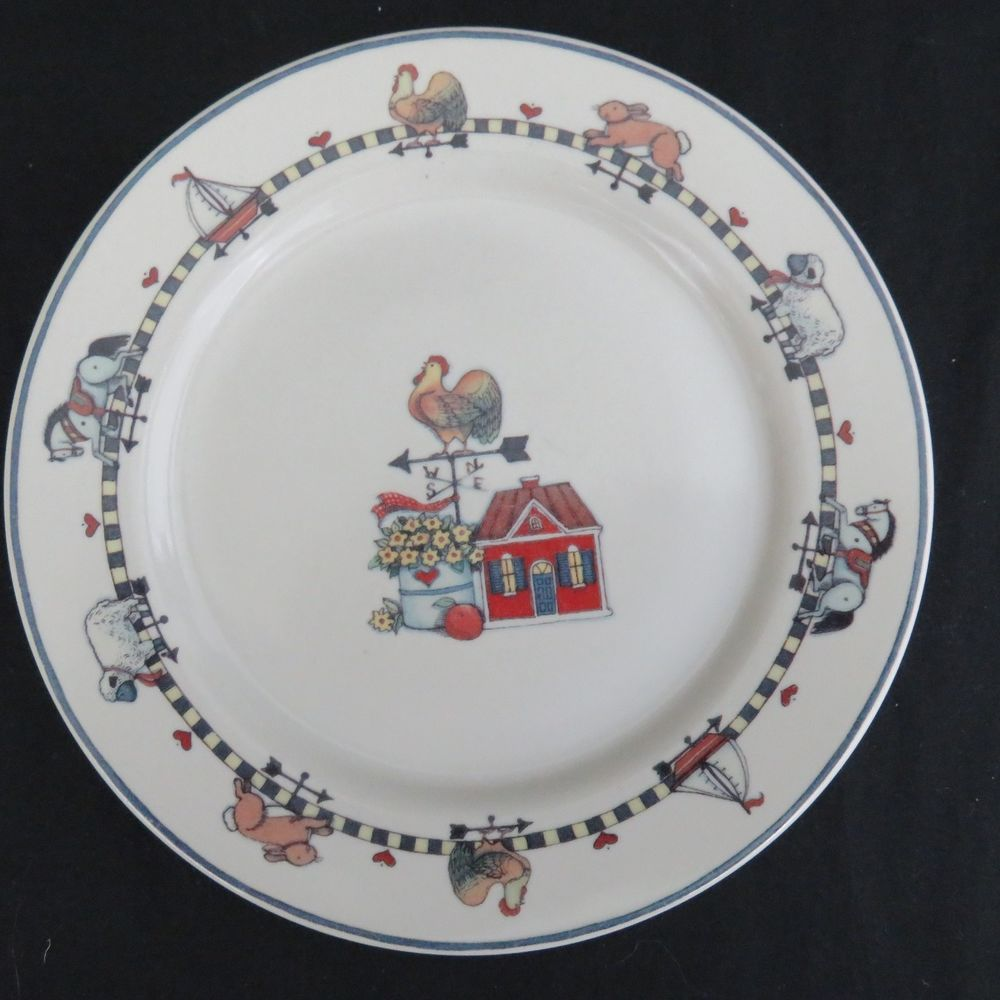 Susan Winget Windy Hill Salad Plates Set Of 2 International Tableworks  Dessert