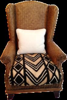 Oversize Padma Plantation Chair On Chairish.com