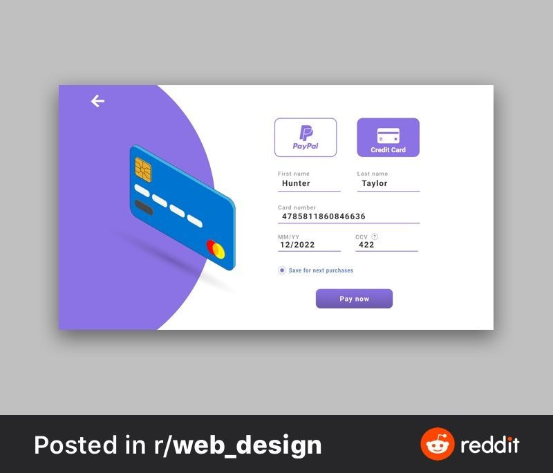 Pin By Michael Donahue On Urs Credit Card Paypal Credit Card Web Design