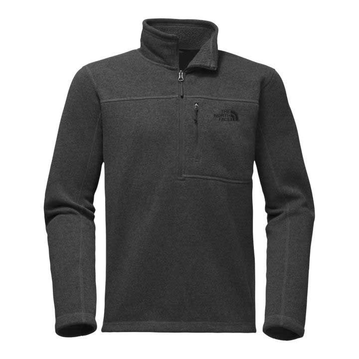 The North Face Gordon Lyons Quarter Zip Pullover in TNF Dark Grey ...