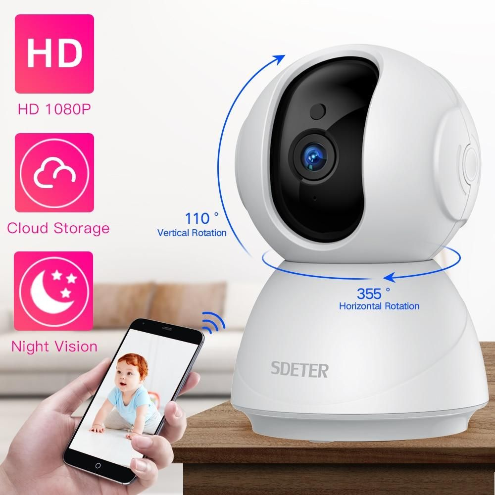 1080P 720P IP Security Camera - White / AU Plug / 1080P Add 128G Card