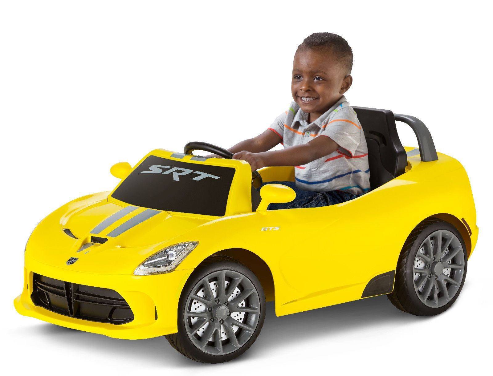6V Yellow Dodge Viper Battery Powered Ride On (On Sale)