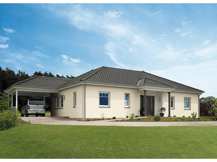 Bungalow 133 einfamilienhaus von hanse haus gmbh for Fertighaus klassisch